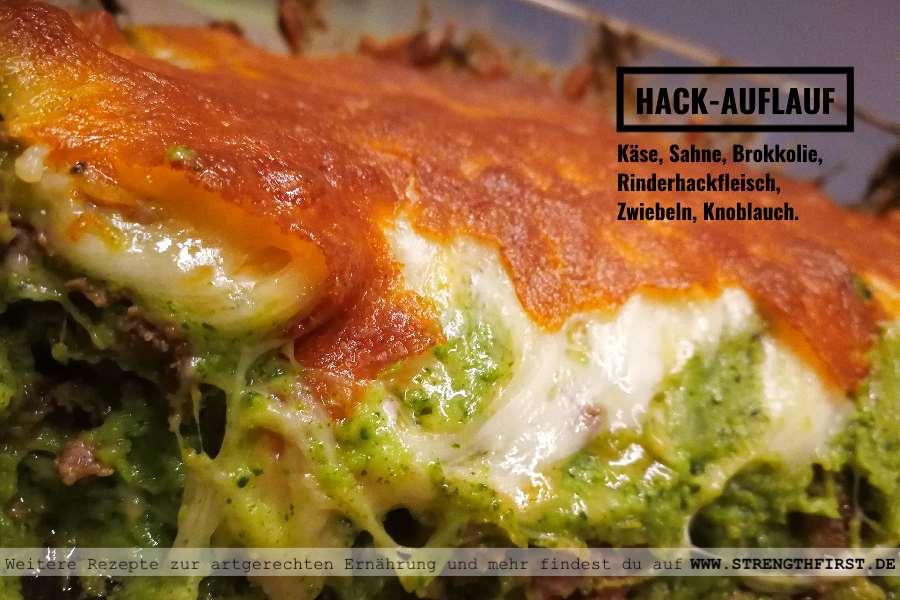 brokkoli hack auflauf ohne kohlenhydrate