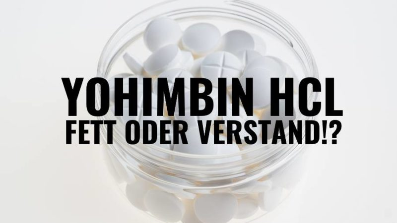 Yohimbin HCL Einnahmeempfehlung