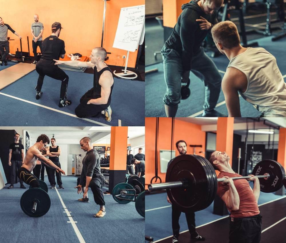 Oberkörper und Unterkörper Strength First Ausbildung zum Kraft- und Gesundheitstrainer