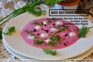 ROTE BUTTERMILCHSUPPE