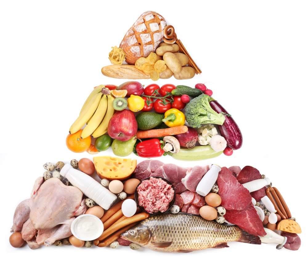 Ernährungspyramide Ernährungsberatung Ausbildung zum Ernährungstrainer