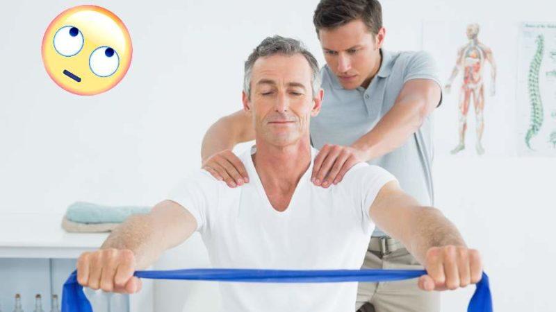 die beste Übung bei Schulterschmerz Physiotherapie