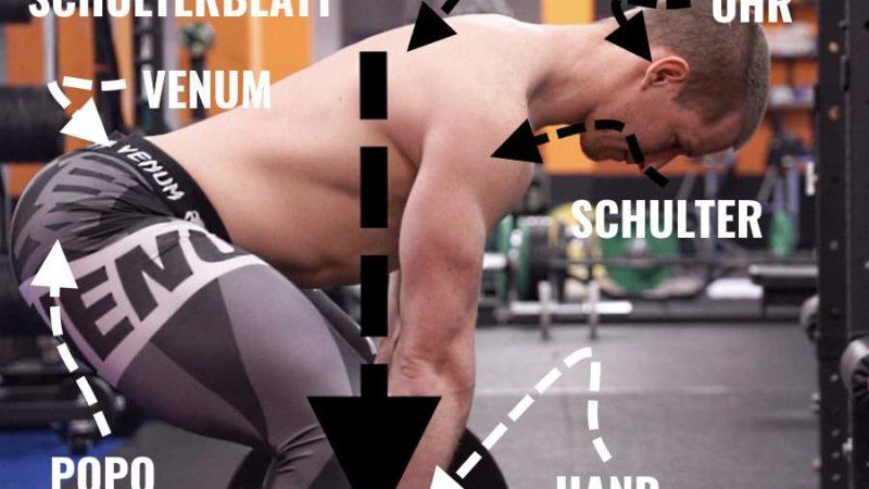 Kreuzheben Chris Eikelmeier Deadlift Technik
