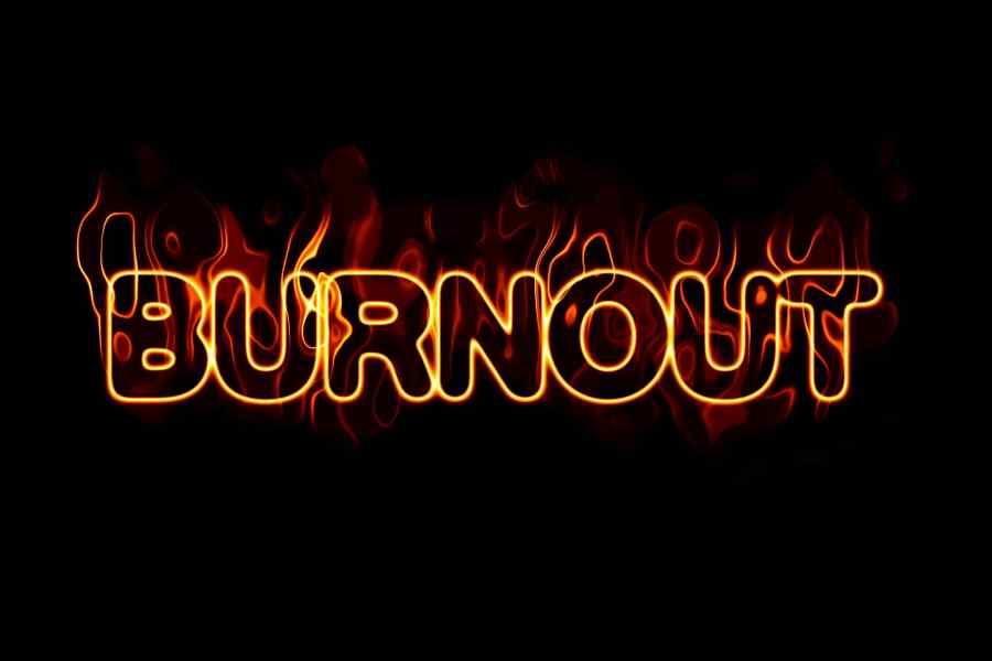 Burnout Übertraining Leistungsverlust