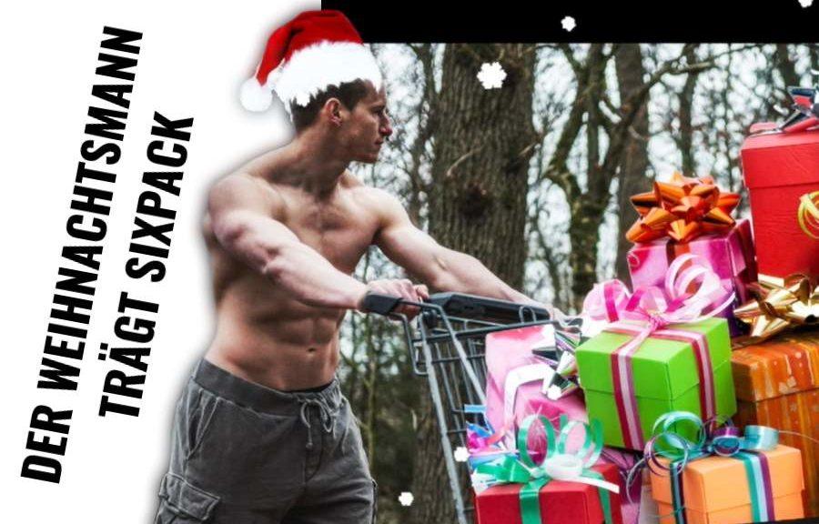 Der Weihnachtsmann trägt Sixpack