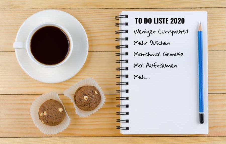neujahres Vorsätze 2020 Silvester Warstein