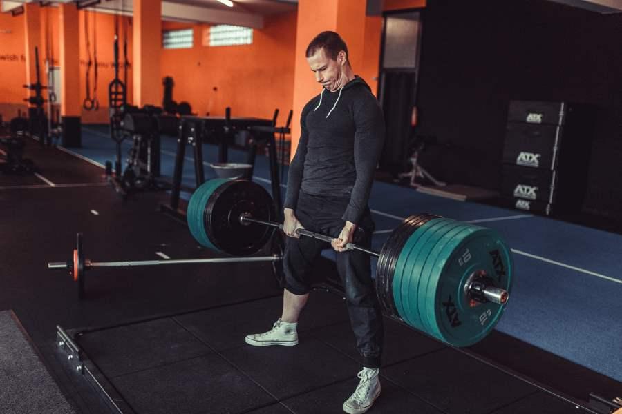 Chris Eikelmeier Grundübungen mit der Langhantel Seminar Muskelaufbau Powerlifting Warstein